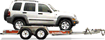 Rent a vehicle trailer in Pinellas Park